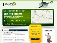 Samlocksmithhaywardsheath.co.uk