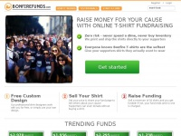 Bonfirefunds.com - Bonfire Funds: T-Shirt Fundraising, Raise Money with Custom T-Shirts