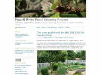 Powell River Food Security Project | Growing, preserving, preparing and sharing food on BC's Upper Sunshine Coast