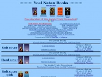 Yoel Natan, author of books on the Trinity, Islam, and more