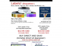 addresslabels-canada.com