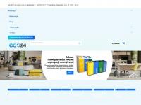 Eco24.pl - ECO24 - pojemniki na odpady, kosze na smieci