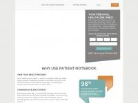 patientnotebook.com