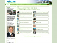 koester-bauchemie.com
