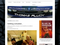 Thomas Pluck | Writer of Hardboiled Thrillers