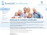 Scottishcertificates.org.uk