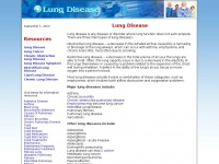 lungdisease.org Thumbnail