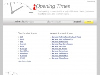Iopeningtimes.co.uk