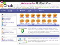 321 Chat - Free chat rooms for all ages.