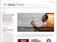 Thegoodproject.org
