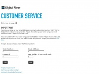 Findmyorder.com - DRI*DigitalRiver Customer Service - Find Your Order