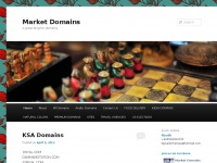 Market Domains | A great blog for domains