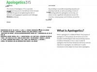 apologetics315.com