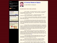 acriminalwasteofspace.com