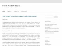 stockmarketbasics.info