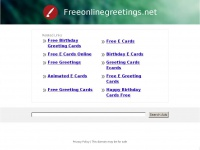 freeonlinegreetings.net