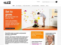 Tele2 - Set to grow. By offering what you need for less