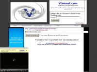 Vtunnel.com is here to help you beat internet filtering!