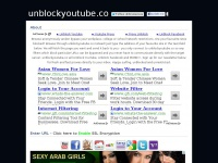 UnBlock youtube - YouTube Unblocker, we Unblock YouTube.