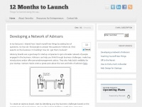12monthstolaunch.com