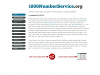 1800numberservice.org Thumbnail