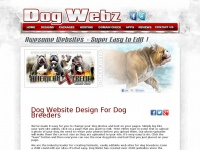 Dog Website Banner