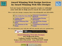 Award Winning Web Site Design by Award Winning Web Site Designs!