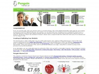 Penguin Internet Ltd - UK cPanel Web Hosting and Reseller Accounts - Website Holding Page