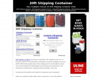 20ftshippingcontainer.org