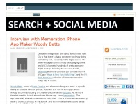 Search and Social Media - Search Engine Marketing and Social Media Marketing