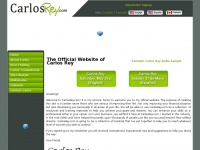 The Official Website of Carlos Rey | CarlosRey.com