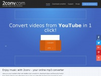 2conv.com - 2CONV VIDEO CONVERTER. VIDEO TO MP3 CONVERTER.