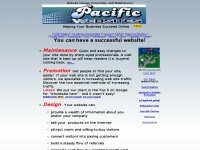 Website Design, Promotion, Web Site Maintenance by Pacific Websites from Comox, Courtenay, Vancouver Island