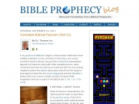 Bible Prophecy Blog