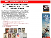 militarysheetmusic.com