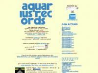 aquariusrecords.org Thumbnail