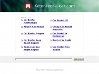 kotor-rent-a-car.com
