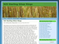 925 Sterling Silver Rings | Silver Ring 925 Sterling Silver Rings Gemstone Rings Gems Ring