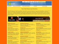 Pear Web Resources Directory
