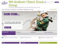 9thandovertownscoutgroup.org Thumbnail