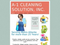 A-1cleaningsolution.com
