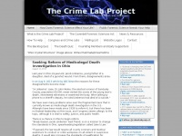 The Crime Lab Project | Raising Awareness of Public Forensic Science Needs and Challenges