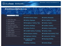 A1safetysolutions.org
