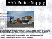 Aaapolicesupply.com