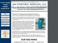 Aaaportableservices.com