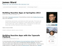 James Ward | Typesafe | Java | Scala | Play Framework | Akka | Open Source | Linux