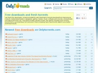 Free downloads and torrents at Onlytorrents.com