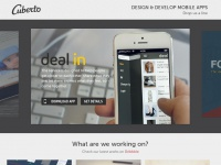 Cuberto - Design & Develop mobile apps