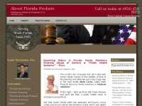Aboutfloridaprobate.com