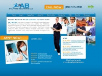 Travel Healthcare Staffing | Top Travel Healthcare Jobs! | AB Staffing Solutions LLC